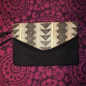 Express Woven Tribal Clutch